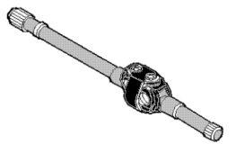 полуось правая Iveco 42103391